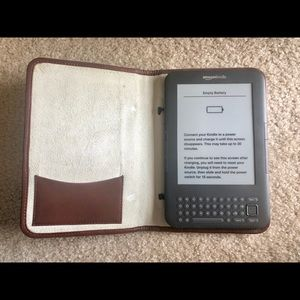 Cole Haan Accessories - Cole Haan woven leather Kindle cover